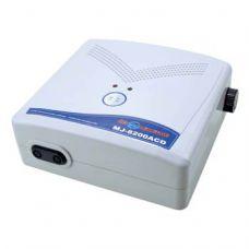 Компрессор для аквариума безперебойный двухканальный с регулировкой подачи воздуха MJ-S8200 8L/min