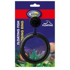 Кормушка плавающая для аквариумных рыб AN на присоске круг