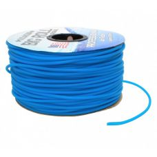 Воздушная трубка силиконовая синяя 4/6мм 1м