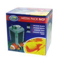 Набор наполнителей для внешнего фильтра Aqua Nova MPACK 600-800