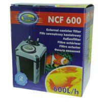 Фильтр для аквариума внешний канистровый Aqua Nova NCF-600 600л/ч