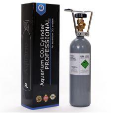 Баллон CO2 Aquario заправляемый BLUE 2л