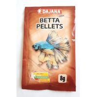 Корм для лабиринтовых рыб (петушков, гурами, макроподов) гранулы Dajana BETTA pellets 20 мл