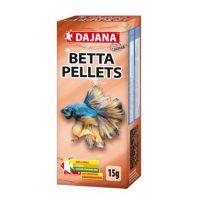 Корм для лабиринтовых рыб (петушков, гурами, макроподов) гранулы Dajana BETTA pellets 50 мл