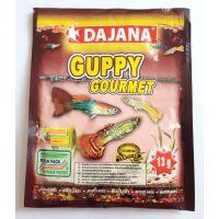 Корм для живородящих рыб в хлопьях Dajana GUPPY GOURMET 60 мл