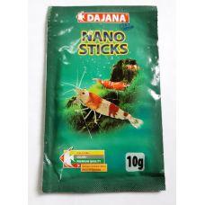 Корм для декоративных креветок и аквариумных крабов Dajana Nano Sticks 15 мл