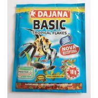 Корм для всех видов рыб в хлопьях Dajana TROPICA BASIC 60 мл