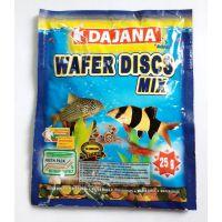 Корм для донных рыб Dajana WAFER DISCS mix 80 мл