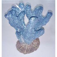 Декорация для аквариума DoPhin Коралл синий 13см, 292D