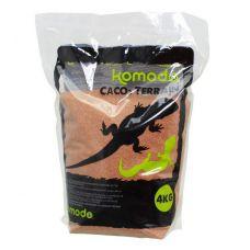 Пищевой песок для рептилий Komodo CaCo3 Sand Terracota 4кг
