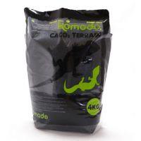 Пищевой песок для рептилий Komodo CaCo3 Sand black 4кг