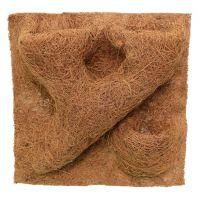 Фон для террариума REPTI-ZOO структурированный из кокосового волокна 30x30см