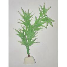 """Пластиковое растение для аквариума CW-2825 8"""""""