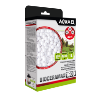 Наполнитель Aquael BioCera MAX UltraPro 1600 для удаления нитратов и аммиака 1л 106613