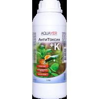 Удо Ермолаева AQUAYER АнтиТоксин + К 1 л (устраняет хлор, металлы + удобрение для листьев)