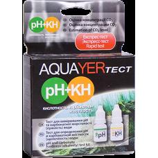 Удо Ермолаева AQUAYER Тест pH+kH (кислотность+карбонатная жесткость)