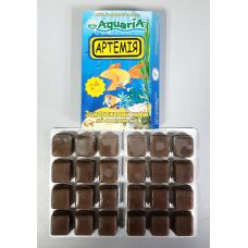 Замороженный корм Aquaria Артемия (блистер) ( от 10 до 19шт - 10% от 20шт - 20% ) Любого наименования!