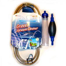 Сифон для чистки грунта в аквариуме, колба 29х5см Resun VC-3B