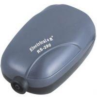 Компрессор для аквариума воздушный одноканальный бесшумный RS-Electrical RS - 290 1.2L/min