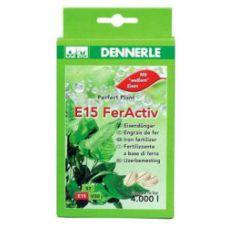 Железосодержащее удобрение длительного действия в таблетках DENNERLE E15 FerActiv, 40 шт 4550