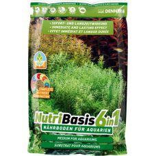 Грунтовая подкормка для аквариумных растений DENNERLE Nutri Basis 6 in 1 2,4 кг 4586