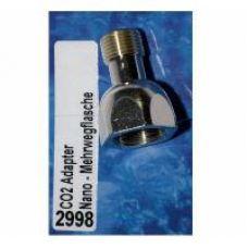 Переходник DENNERLE для подсоединения редуктора из комплекта Nano-Set системы Crystal-Line к многоразовому заправляемому баллону серии MEHRWEG 2998