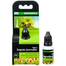 Комплексное ежедневное удобрение DENNERLE Tagesdunger для великолепной растительности в мини-аквариумах 15 мл 5929