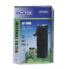 Внутренний фильтр для аквариума Hidom AP-300L 200л/ч (аквариум 10-30л)