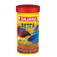 Корм для лабиринтовых рыб (петушков, гурами, макроподов) смесь Dajana BETTA 100 мл