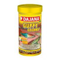 Корм для живородящих рыб в хлопьях Dajana GUPPY GOURMET 100 мл