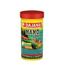 Корм для декоративных креветок и аквариумных крабов Dajana Nano Gran 20 мл