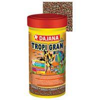 Корм для всех видов рыб и Дискусов в гранулах Dajana TROPI GRAN 250 мл
