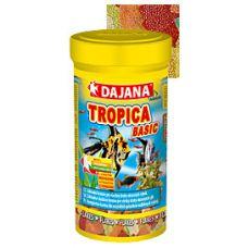 Корм для всех видов рыб в хлопьях Dajana TROPICA BASIC 100 мл