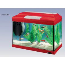 Аквариум 21 литр прямоугольный Ferplast CAYMAN 40 COLOUR 65040070 (комплект)