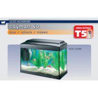 Аквариум 21 литр прямоугольный Ferplast CAYMAN 40 CLASSIC (комплект)