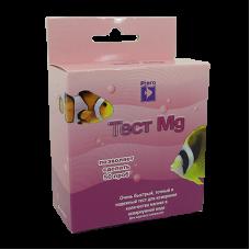 Тест Ptero Mg уровень магния в аквариумной воде