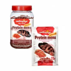 Корм АКВАРИУС протеин меню (большие палочки) 25г