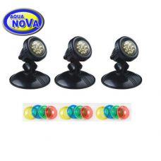 Светодиодный светильник для прудов и фонтанов AquaNova NLEDPB-3
