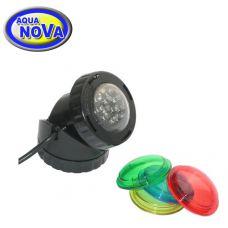 Светильник светодиодный для прудов и фонтанов AquaNova NPL1-LED (диммер день-ночь)
