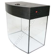 Аквариум под заказ до 100 литров с овальным стеклом