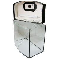 Крышка для аквариума овальная пластиковая 120х40 5мм (выбор цвета)
