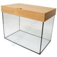 Крышка для аквариума прямая пластиковая 100х40 5мм (выбор цвета)