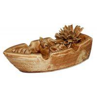 Керамика для аквариума Лодка