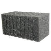 Фильтрующая губка к насосам (помпам) прямоугольная 20х10см (среднепористая, перфорация)