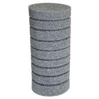 Фильтрующая губка к насосам (помпам) цилиндр 20х9см (мелкопористая, перфорация)
