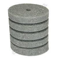 Фильтрующая губка к насосам (помпам) цилиндр 9х15см (мелкопористая, перфорация)