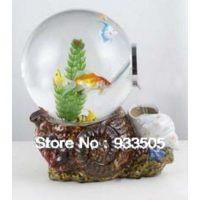 Аквариум для золотых рыбок Водопад 15 литров шар (акриловый)