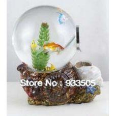 Аквариум для золотых рыбок MJ Водопад 15 литров шар (акриловый)