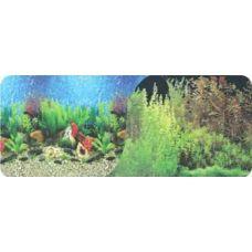 Задний фон для аквариума двухсторонний 40см высота 9032