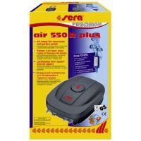 Компрессор для аквариума воздушный бесшумный четырехканальный с регулировкой подачи воздуха AIR 550R